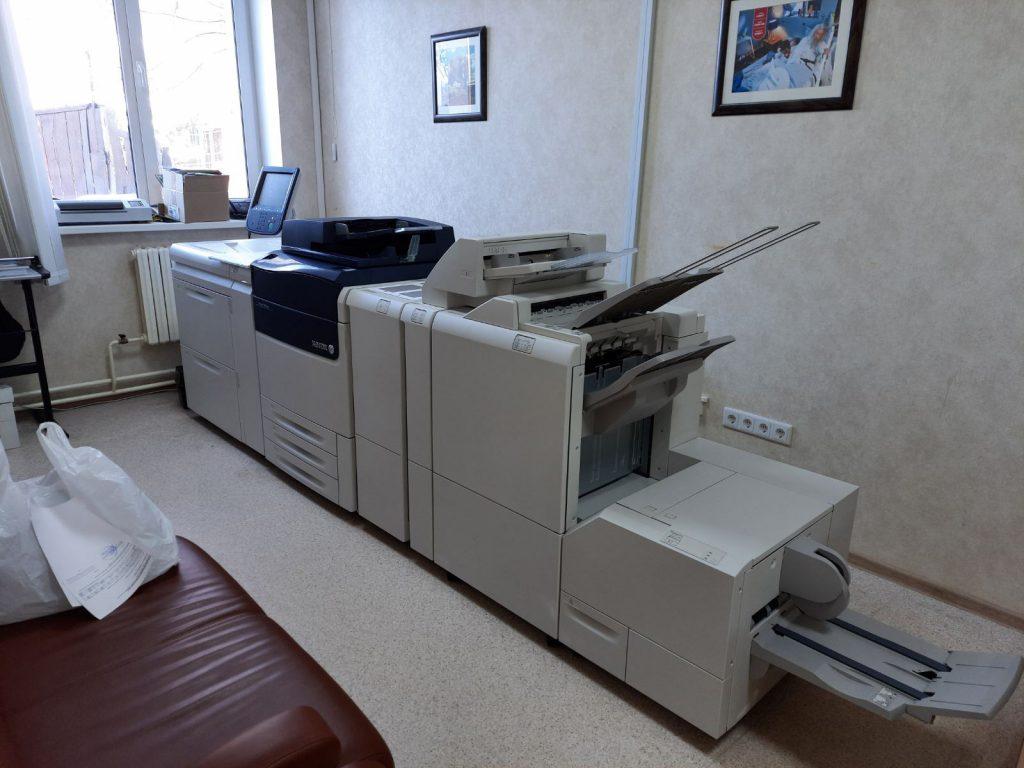 Наш новый проект – установка Xerox Versant 180 Press