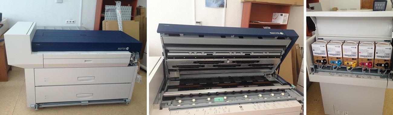Впервые в Беларуси - широкоформатный цветной принтер Xerox IJP2000