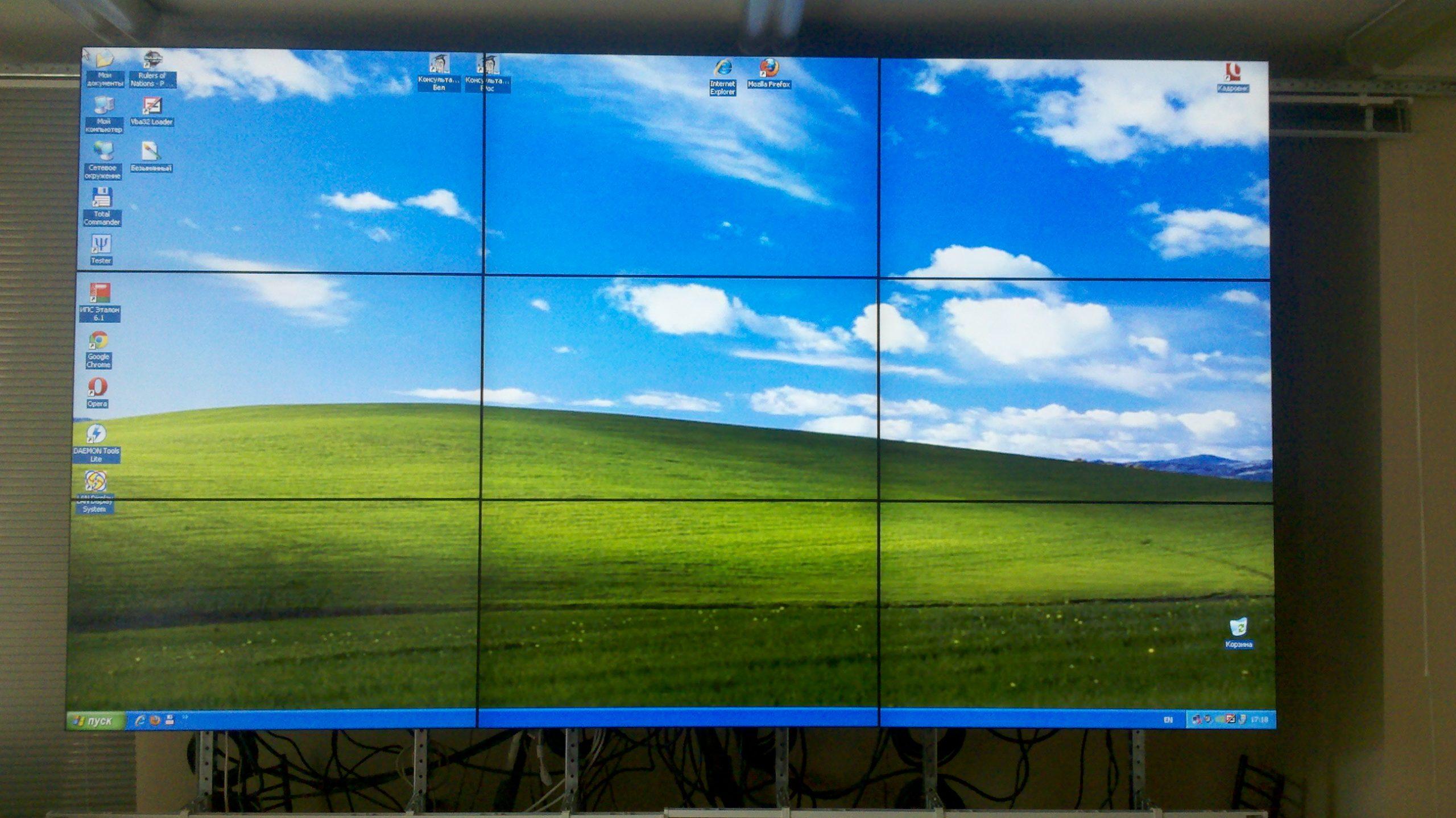 Инсталяция видеосистемы Nec