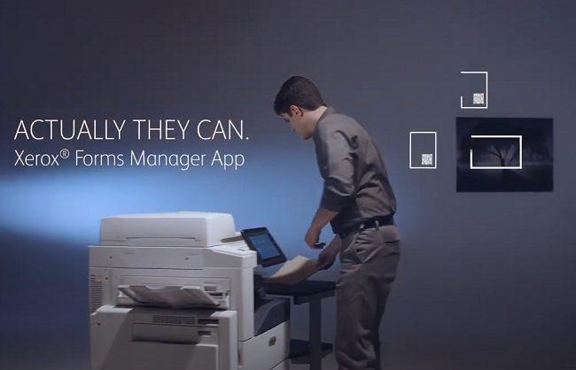 Приложение Xerox® Forms Manager для маршрутизации